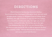 custom enclosure cards - pale pink - film edge (set of 10)