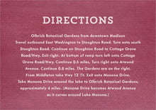 custom enclosure cards - burgundy - film edge (set of 10)