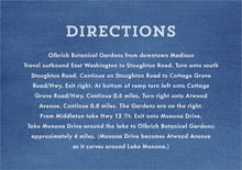 custom enclosure cards - deep blue - film edge (set of 10)