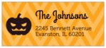 Iconic Halloween designer address labels