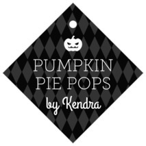 Iconic Halloween diamond hang tags