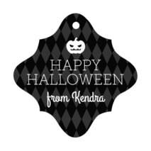 Iconic Halloween fancy diamond hang tags