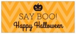 Iconic Halloween small rectangle labels