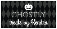 Iconic Halloween rectangle labels