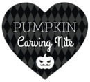 Iconic Halloween heart labels