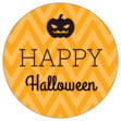 Iconic Halloween small round labels