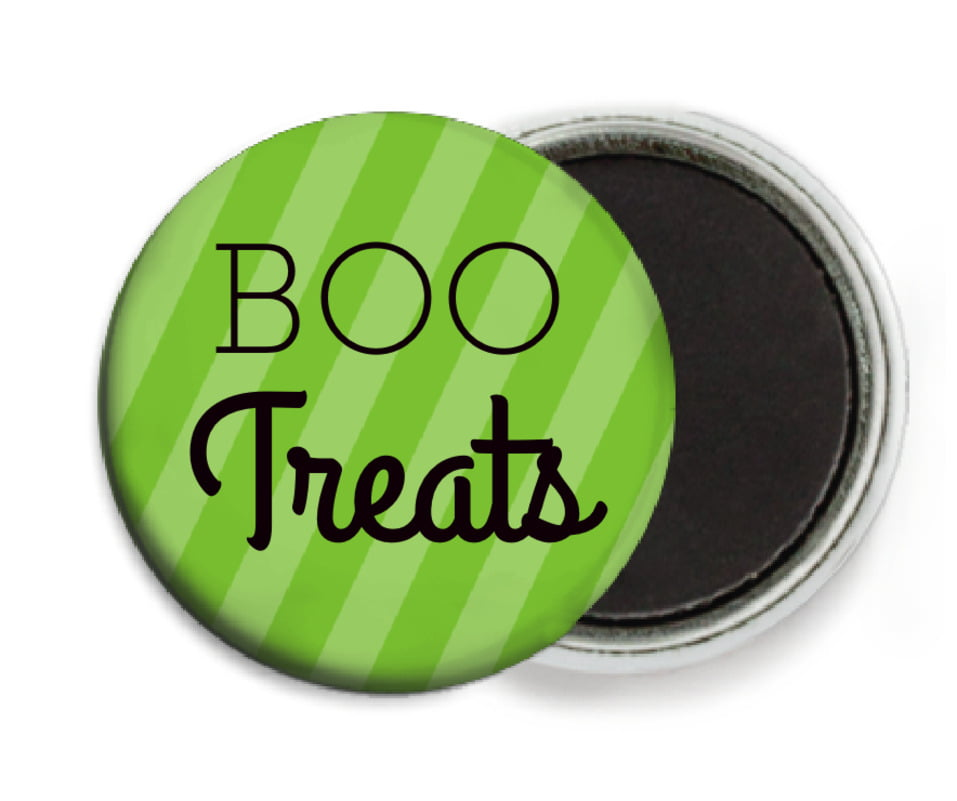 custom button magnets - lime - iconic halloween (set of 6)