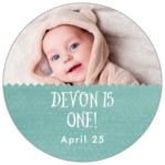 Chevron Edge circle labels