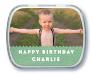 Chevron Edge kid/teen birthday mint tins