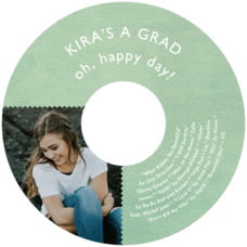 Chevron Edge Cd Label In Mint