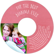 Chevron Edge mother's day CD/DVD labels