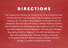 custom enclosure cards - deep red - chevron edge (set of 10)