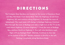custom enclosure cards - bright pink - chevron edge (set of 10)
