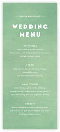 Chevron Edge Menu In Mint