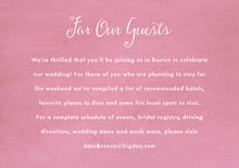custom enclosure cards - pale pink - scallop edge (set of 10)