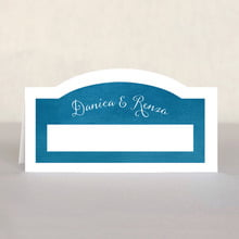 Scallop Edge place cards