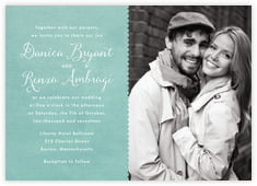 Scallop Edge invitations