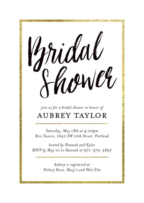 baby shower invitations - tuxedo - bridal shimmer (set of 10)
