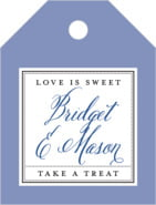 Just Glamorous small luggage tags