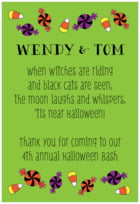 Jack-o-Lantern text labels