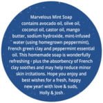 Bonjour circle text labels