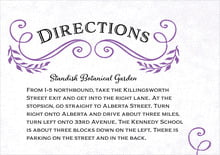 custom enclosure cards - purple - joy of scrolls (set of 10)