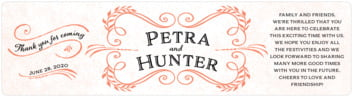 Joy of Scrolls bottled water labels