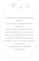 Jubilation oval text labels