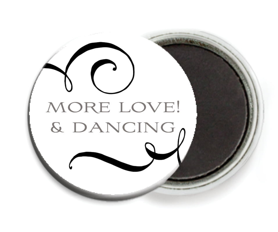 custom button magnets - tuxedo - jubilation (set of 6)