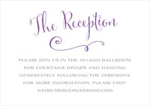 custom enclosure cards - plum - jubilation (set of 10)