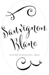 Jubilation large oval hang tags