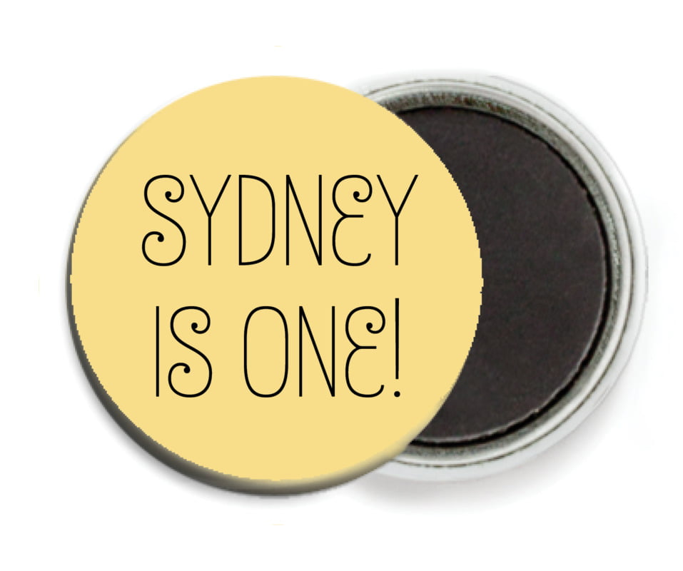 custom button magnets - sunburst - jules veneer (set of 6)