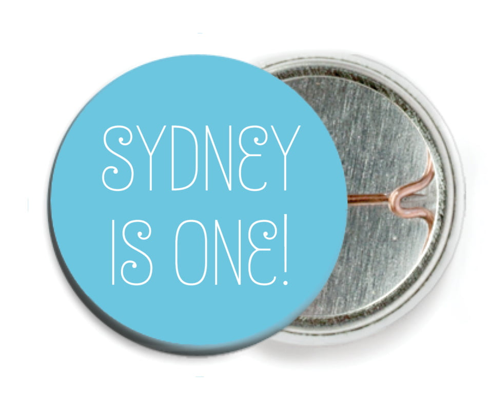 custom pin back buttons - sky - jules veneer (set of 6)