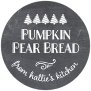 Chalkboard Holiday large circle labels