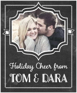 Chalkboard Holiday large labels