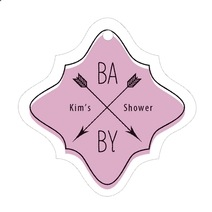 Katniss fancy diamond hang tags