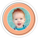 Katniss circle photo labels