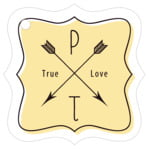 Katniss fancy square tags