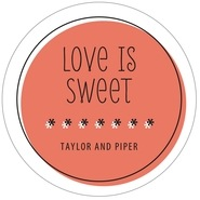 Katniss wedding labels