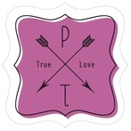 Katniss fancy square labels