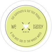 Katniss father's day coasters
