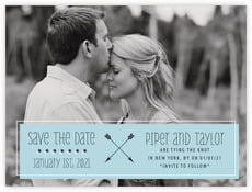 Katniss save the date cards
