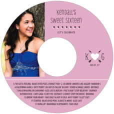 Katniss Cd Label In Peony