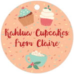 Cupcake Cheer circle hang tags