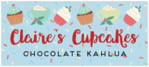 Cupcake Cheer small rectangle labels
