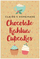 Cupcake Cheer tall rectangle labels