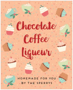 Cupcake Cheer party wine labels