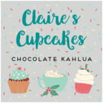 Cupcake Cheer square labels