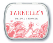 Sea & Sky bridal shower mint tins