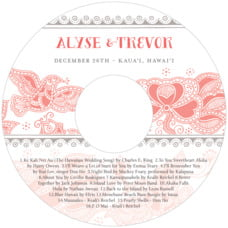 Sea & Sky cd labels
